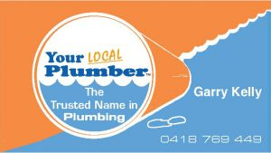 Your Local Plumber - Garry Kelly Logo